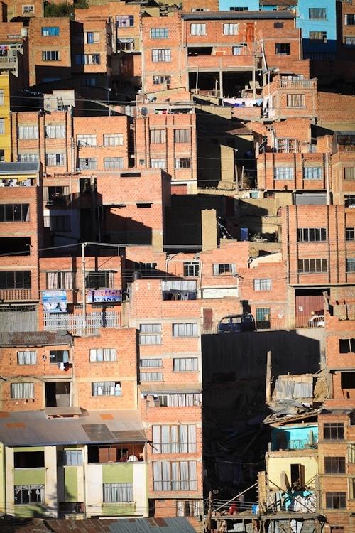 La Paz : son coté z'urbain