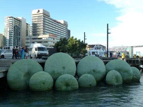 Wellington la capitale pour prendre le ferry pour l'île du sud