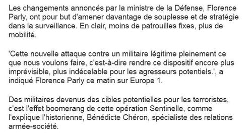 Force sentinelle
