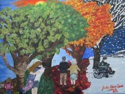 Ephémères saisons, par Jolana
