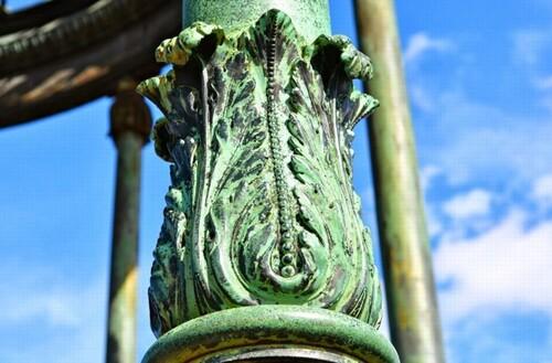 La gloriette du Jardin des plantes