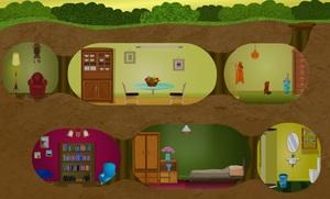 Jouer à Mole house rescue