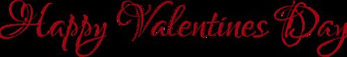 Tubes, Saint Valentin