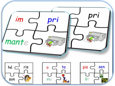 Puzzle syllabes
