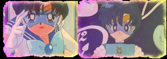 Sailor Mercury possède quelques gadgets