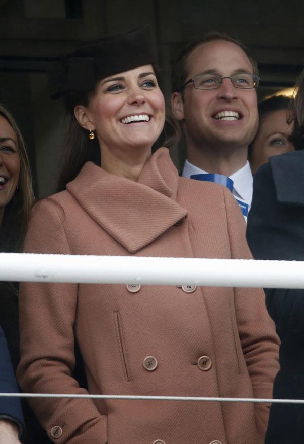 Kate et William aux courses