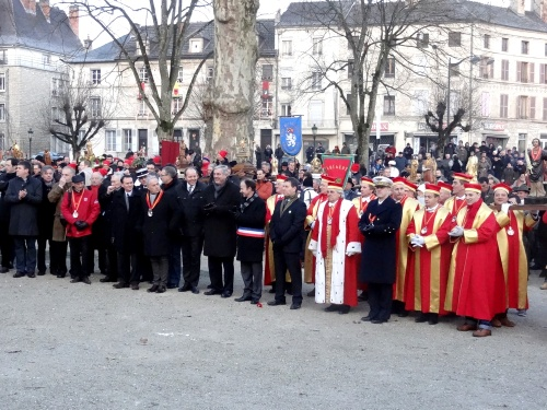 Les cérémonies de la Saint Vincent tournante 2013 du Crémant de Bourgogne...