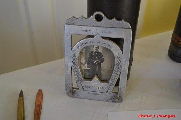 Une exposition de matériel militaire à Bissey la Côte