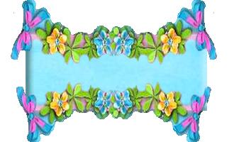 Arc en ciel fleuri