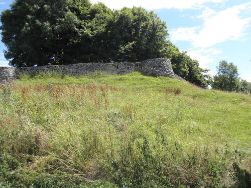 Lugarde : les ruines du château