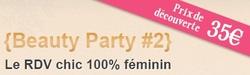 Calendrier De L'Avent #3: En route pour la Beauty Party!