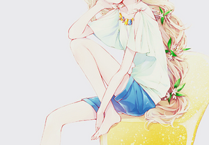 Image de anime girl and cute