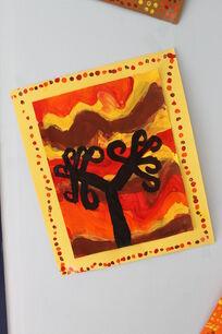 arbre automne ce1 cp ce2 art visuel