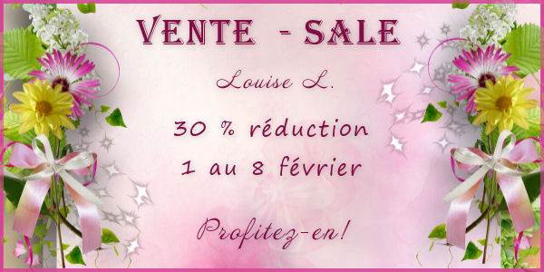 Vente /sale by Louise L