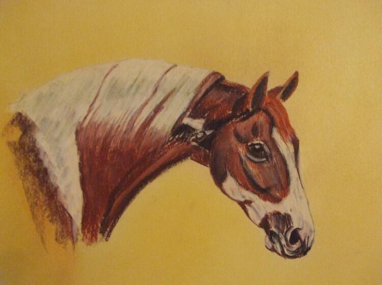 Le cheval triste