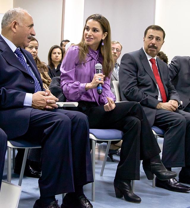 Rania et l'éducation