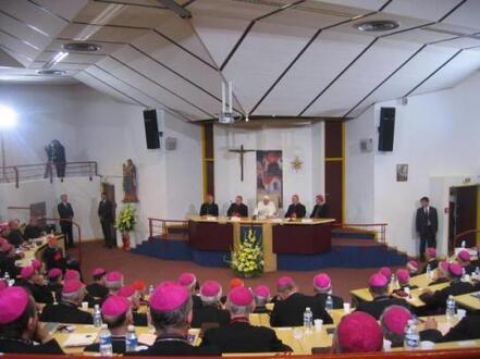 Lourdes : Hémicycle
