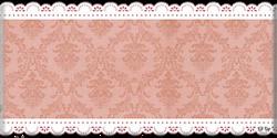 vintage dentelle fond rouge