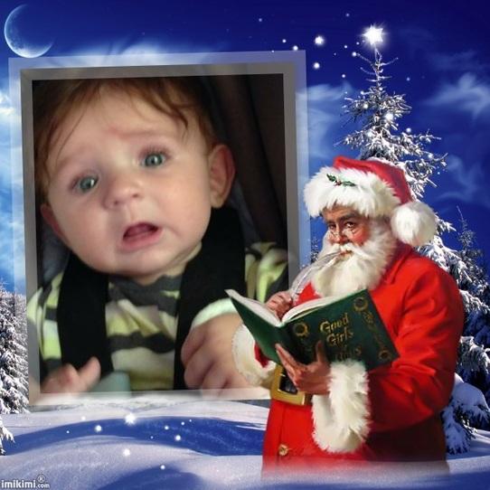C'est lui Papa Noel!!