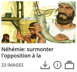 l'opposition de Néhémie (Néhémie 4,6)