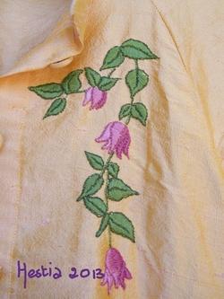 veste/chemise en soie