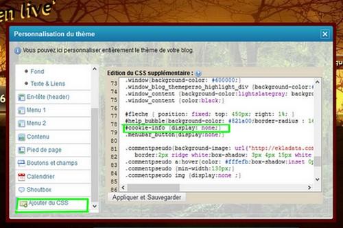 Info CSS