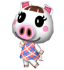 Lucie animal crossing WII