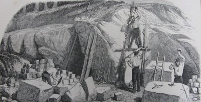 grès chantier 1846