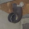 Pose évacuation en PVC diamètre 100 au sous sol (6)