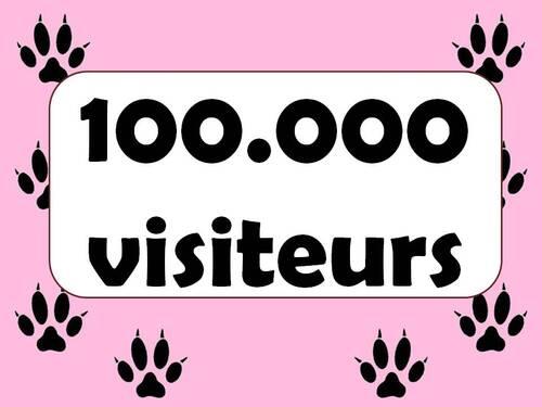100.000 visiteurs