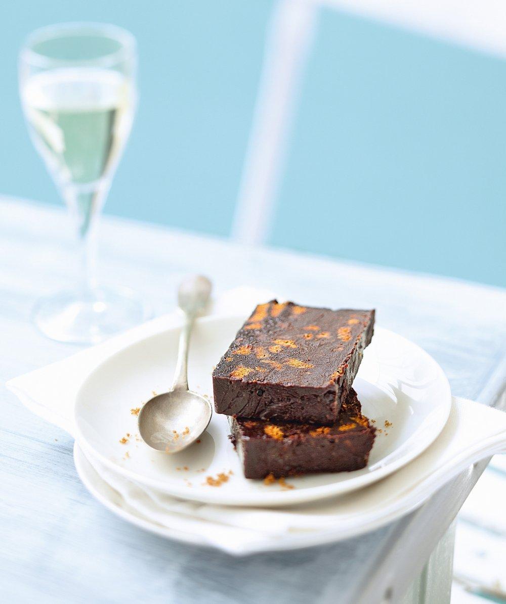 Marquise chocolat-spéculoos