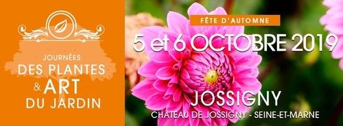 Fête des plantes et art du jardin à Jossigny