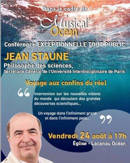 STAUNE, Jean - Pour que demain soit un rêve plutôt qu'un cauchemar (Rencontres)