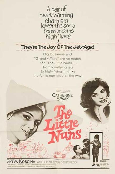 THE LITTLE NUNS BOX OFFICE USA 1965