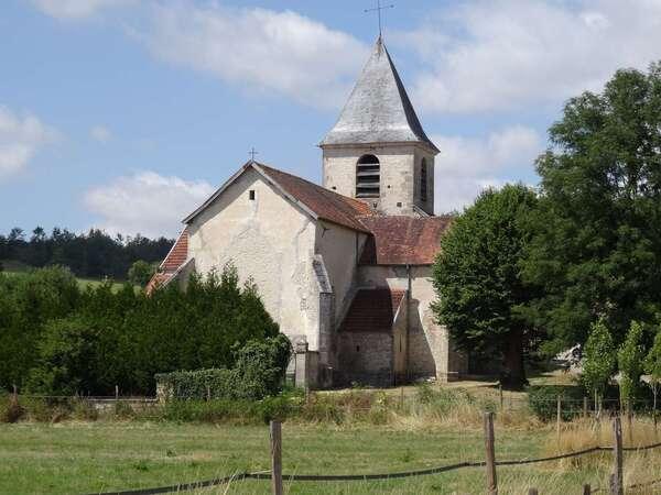 L'église de Gomméville