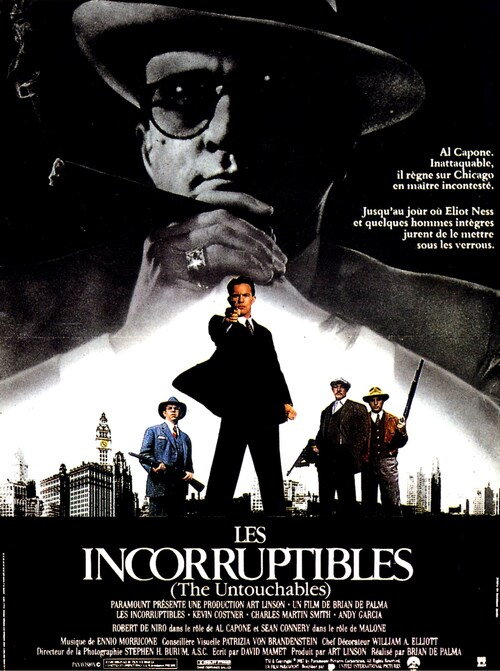 LES INCORRUPTIBLES - SEAN CONNERY BOX OFFICE 1987