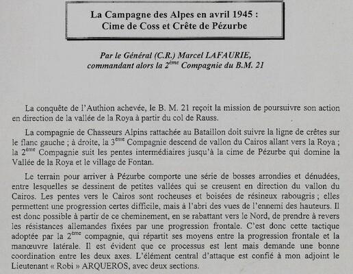 * Trésors d'Archives - Documents militaires du soldat Roland Pécheux des Forces Francaises Libres (B.M.21)