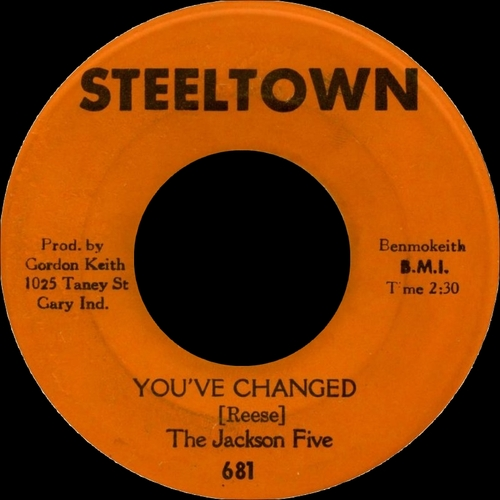 "The Jackson 5 : "" The Steel Town Sessions Their First Recording From 1965-1967 "" Almafame Records ALMACD2 [ UK ]"