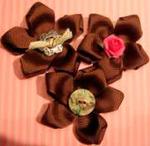 Fleur en ruban