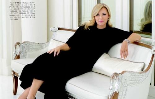 Valérie Trierweiler méconnaissable dans le magazine Richesse !