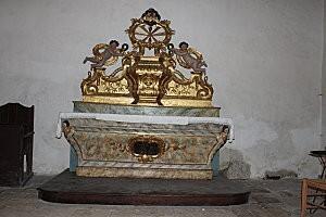 église St Cirq Lapopie -3-