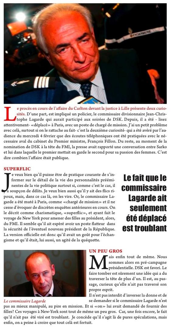 LES CURIOSITÉS DU PROCÈS DU CARLTON
