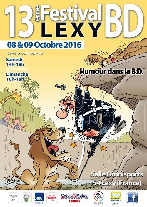 13ème festival EURO B.D. de Lexy