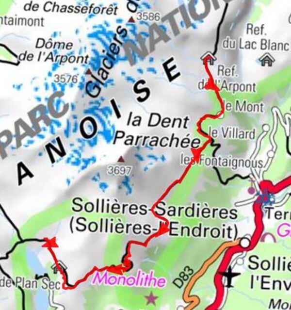 J 11  L'Arpont > La Fournache