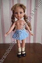 tuto gratuit poupée: jupe plissé soleil