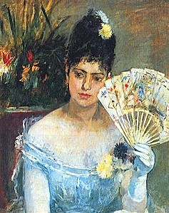 Berthe Morisot Jeune fille au bal
