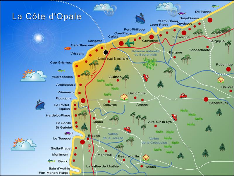 Que Faire Sur La Cote D Opale