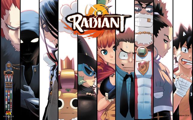 Radiant, le shônen qui fait changer d'avis sur les mangas français ...