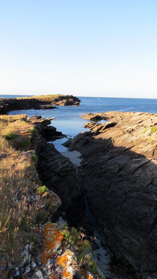Escapade iodée à l'Île de Groix (Morbihan) - Vers la Pointe des Saisies