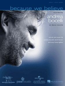 Adaptations de plusieurs titres d'Andrea Bocelli